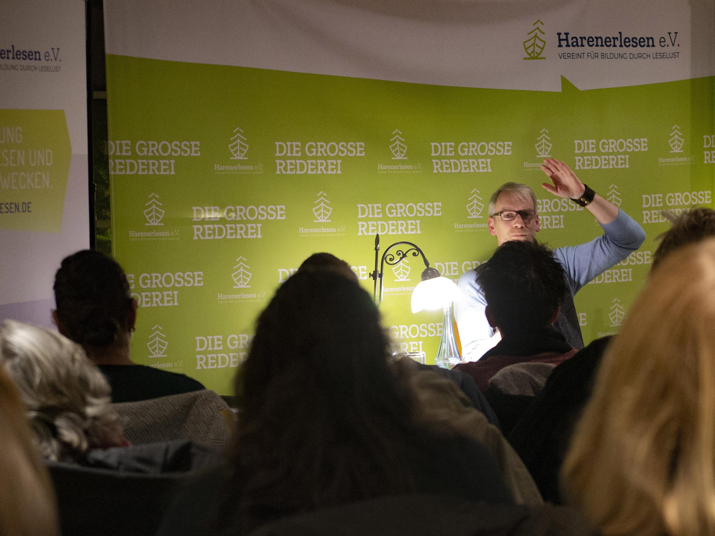 Stefan Holtkötter beim Harener Lesefest 2019